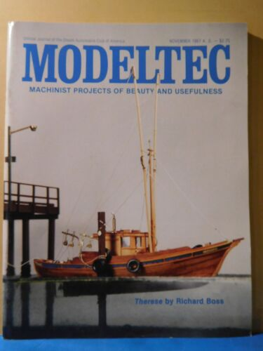 Modeltec 1987 November Magazine Therese 1 inch scale box cab diesel Diesel dilem