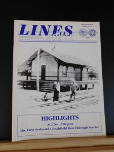 Lines South SAL ACL 1997 4th quarter V14#4 ACL #2 depots Seaboard-Clinchfield th