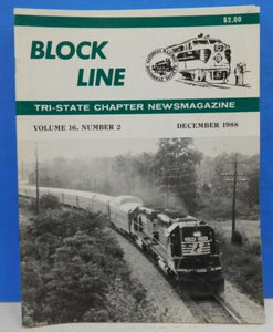 Block Line NRHS 1988 Dec Historical perspective Caboose
