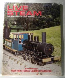 Live Steam Magazine 1998 January February Southern Steam Cleaning flues