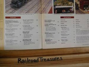Model Railroader Magazine 1994 February CanadaColorful grain hoppers Modern asph