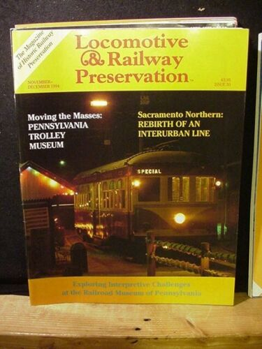 Locomotive & Railway Preservation #50 1994 Nov Dec #50