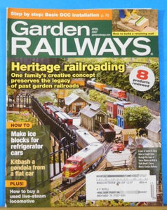 Garden Railways Magazine 2007 April Heritage Railroading