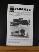 Flimsies West Issue #197 November 17, 1995 News Magazine of Western Railroading