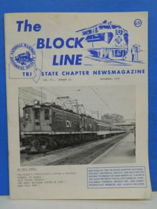 Block Line NRHS 1978 Nov Exit Orient Express, Great Railroad Strike of 1978 Penn