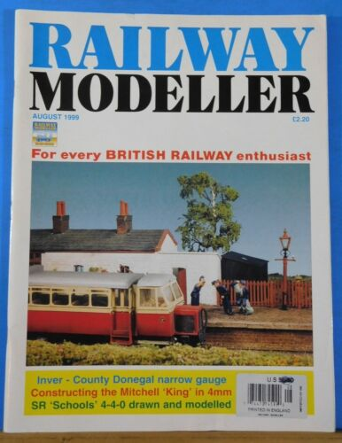 Railway Modeller 1999 August Constructing the Mitchell King in 4mm
