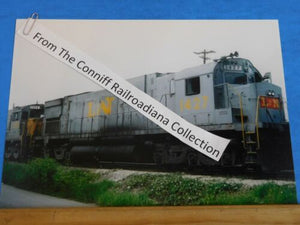 Photo L&N Locomotive #1427 8X11.5 Colo Louisville & Nashville