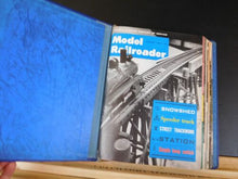 Model Railroader Magazine Complete year in MR blue binders 1963 12 issues