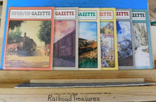 Narrow Gauge & Short Line Gazette Complete Year 1992 6 issues