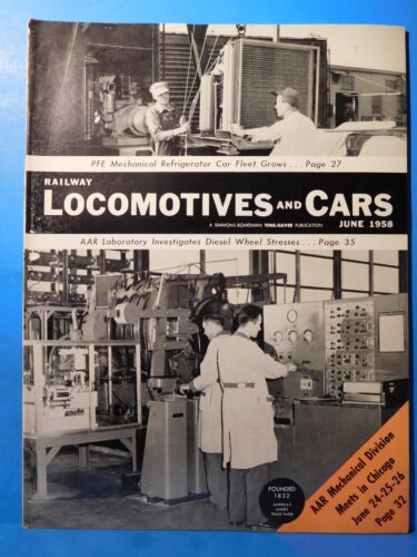 Railway Locomotives and Cars 1958 June PFE Expands Mechanical Reefer Fleet