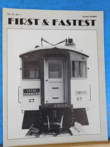 First & Fastest Magazine 1990 Spring V6 #1 Those fine old 4000s