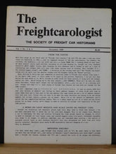 Freightcarologist Vol 1 #3 &4 Nov 1986 A Key to Modern H.O. Scale Box Cars