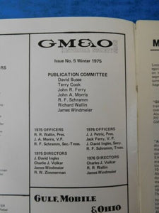 GM&O Historical Society News Magazine #5 1975 Winter DIesel paint schemes