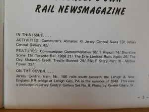 Jersey Central Line NRHS 1980 Sept Matawan Creek Trestle P&LE STory Erie Ltd