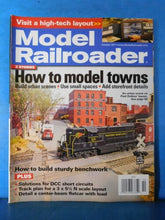 Model Railroader Magazine 2011 October How to model towns Detail center beam fla