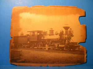 Photo DL&W Luzerne 2-6-2 Locomotive Photograph Approx 8 X 10 inches