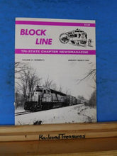 Block Line NRHS 1990 January - March Ski trains come to New Jersey