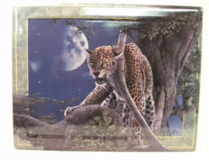Lords of the Night - Moonstruck by Devin Daniel p0103 Plate rectangular Cheetah