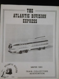 Atlantic Division Express 1983 Lot of 4 EWF Trackless Trolleys Rarest Lionel Cat