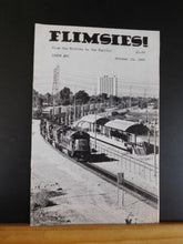 Flimsies West Issue #81 October 10, 1989 News Magazine of Western Railroading