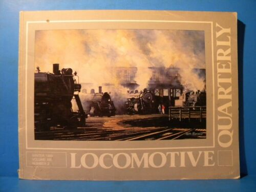 Locomotive Quarterly 1989 Winter Vol 13 #2 B&M SP NYO&W