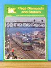 Flags Diamonds and Statues Vol 12 #2 1995 #45 Anthracite RDG F3 O&W Connections
