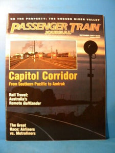 Passenger Train Journal #201 1994 September Capitol Corridor From SP to Austr