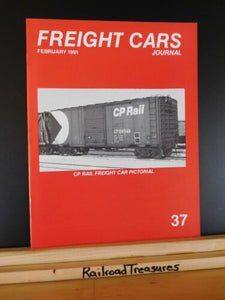 Freight Cars Journal #37 CP Freight Car Pictorial