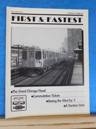First & Fastest Magazine 1992 Summer V8 #2 Great Chicago Flood Commutation ticke