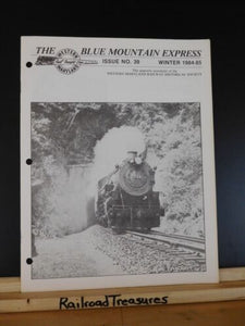Blue Mountain Express #39 1984-85 Western Maryland Historical Society