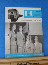 Baltimore & Ohio Employee Magazine 1957 April B&O Employee Magazine