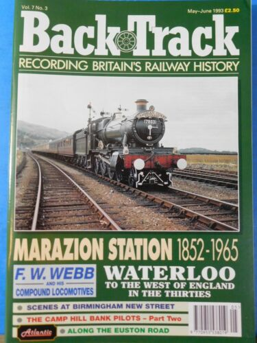 Back Track Magazine 1993 May June Britain Railway History Marazion Station Water
