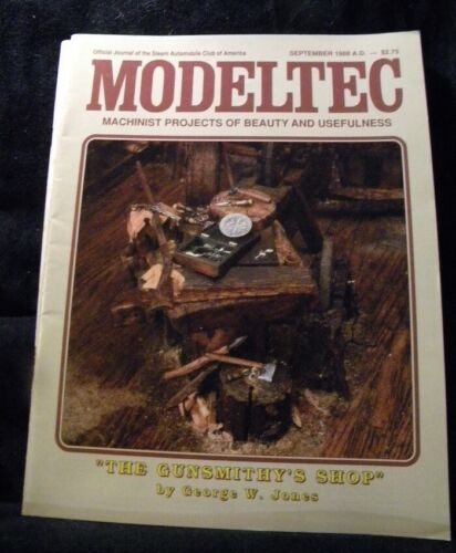 Modeltec 1988 September Magazine Gunsmithy's shop Water tube boilers Crosshead g
