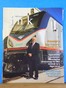 Amtrak Ink Employee Newsletter 2013 June Powering Our Future