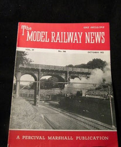 Model Railway News 1953 October Great Western coach drawings ICI Tank car Linked