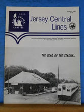 Jersey Central Line NRHS 1981 August The year of the station