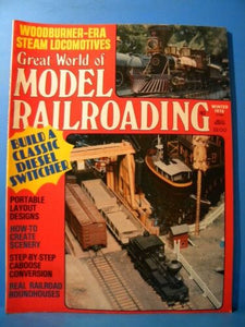 Great World of Model Railroading 1978 Winter Build a classic diesel switcher Sce