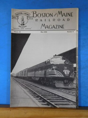 Boston & Maine Railroad Employee Magazine 1950 May