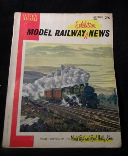 Model Railway News 1963 October Exhibitor Steam Roster M&GNJR Wagon page
