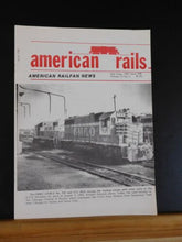 American Rails Formerly Midwestern Rails #98 July August 1985 Caney Fork & Weste
