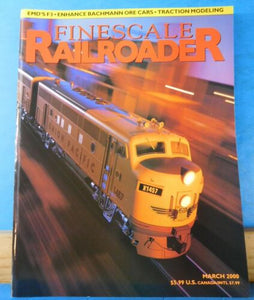 Finescale Railroader 2000 March EMD F3 Enhance Bachmann Ore Cars Traction
