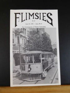 Flimsies West Issue #118 June 20, 1991 News Magazine of Western Railroading