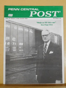 Penn Central Post Employee Magazine 1975 July-August Help us fill this car