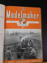 Modelmaker Magazine Bound Volume 16 October 1938 - September 1939 6 issues compl