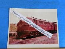 Photo Gulf Mobile & Ohio Locomotive #881B 8X10 Color