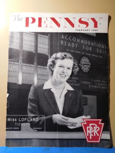 Pennsy Employee Magazine, the 1955 February