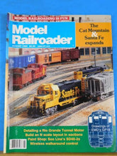 Model Railroader Magazine 1989 August Detail Rio Grande tunnel motor Soo SD40-2s