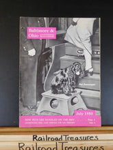 Baltimore & Ohio Employee Magazine 1950 July B&O ow pets are handled