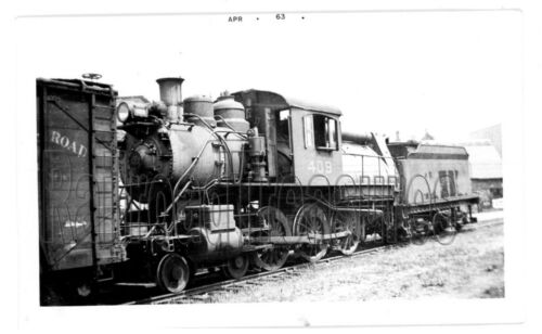 PHOTO Central Railroad of New Jersey #409 Locomotive Photo 1932 CRR 3 1/2 x 5 1/