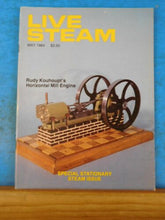 Live Steam Magazine 1984 May Stationary Steam Issue Climax Engine Swedish Saga